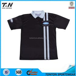 high quality customized stripes golf shirts