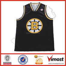 Custom basketball uniform B67 with embroided name and number