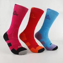 Pico hombres baloncesto calcetines largos calcetines de deporte 9 colores W14909 envío gratis