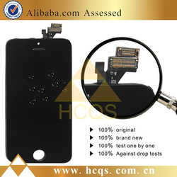 Mobile phone accessories for apple iphone 5 display assembly For iphone lcd screen replacement brand new