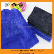 Debossed logo towel for promotional activity