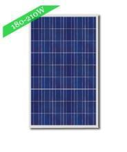 transparent 210watt poly crystalline solar module or cell manufactures
