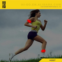 promotional new item led light elastic band led wristband for running and bicycling