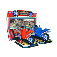 Fire Motor Arcade Simulation Game Machine Motorcycle For Sale
