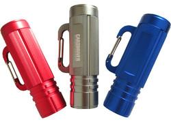 2 In 1 9 LED Carabineer Emergency Flashlight