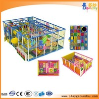 Funny theme indoor play land kids soft play zone