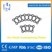 Medical Cranial titanium wire mesh