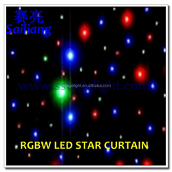 Quad Hot New Products for 2016 led star curtain