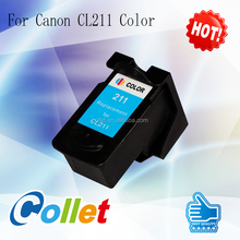 Remanufactured ink cartridge for Canon PG210 CL211 MP240 MP250 MP270 MP480