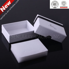 2015 best selling Handmade paper packaging jewelry box feet
