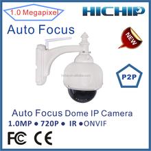 wifi wireless ip network camera megapixel ip camera, waterproof dome ip camera