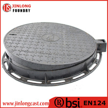 EN124 ductile casting iron construction used manhole cover