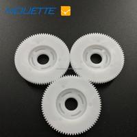 Large nylon plastic double spur gear/ plastic double gears