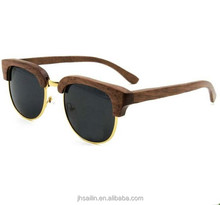 popular wholesale sport design handicrafts wood sunglasses
