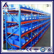 Factory selling cheap metal storage shelves for plastic storage bins