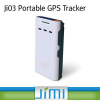 JIMI Mini GPS Personal Tracker,Large Button Cell Phones For Seniors , SOS, Listen In Function Ji03