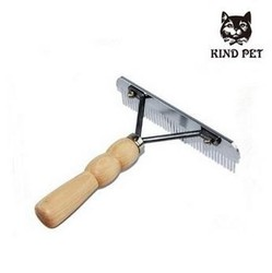 Stainless Steel pet brush/pet grooming brush/pet hair removal brush