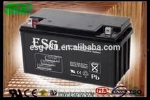 deep cycle 12V65AH gel sealed lead acid battery for ups