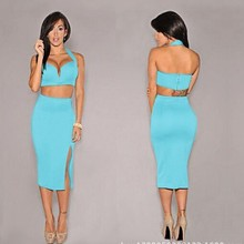 C57157S New arrival sexy backless very hot bandage ladies pary dress