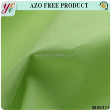 ShaoXing wholesale 100% dyed plain cotton fabric