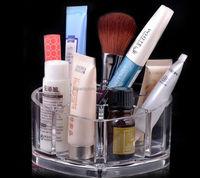 Unique design Acrylic Makeup Case Storage Cosmetic Organizer