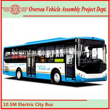 10.5 Meter 32+1 Seats New Electric City Bus for Sale