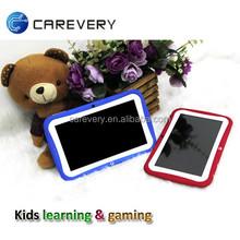 High definition 8GB quad core kids tablet pc, mini pc tablets 7 inch 8GB flash cheap kids tablet