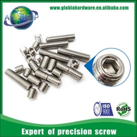 DIN916 stainless steel A-70 m3X3/4/5/6 socket set screws