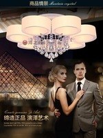 Mirror crystal lamp/ Simple ceiling lamp for living room
