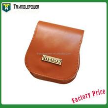 Polaroid Mini 25 Instant Camera Cases Leather Coffee Accessory Compact Protective, Fuji Camera Bag With Strap