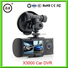 box control camera parking hd X3000 hd dvr 1080p black box for car with auto rear view camera car accessories dubai