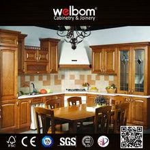 2015 Welbom Advanced Technical American Kitchen Wood Cupboard Design