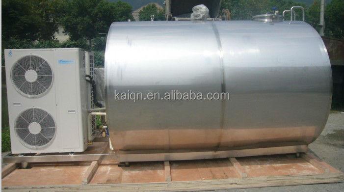 De acero inoxidable Dairy equipment leche del tanque enfriador