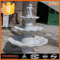 Large manor garden designs stone party drinking fountain