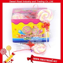 Twist Marshmallow Lollipop Candy