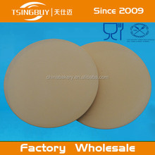 Factory wholesale heat resistant slate round pizza oven stone/cordierite pizza stones/pizza stone gift set