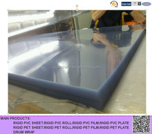 rigid plastic clear transparent thermoforming PVC sheet for blister pack