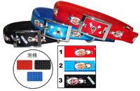 Light PP ribbon pet dog collars Glance pet collar Walking dog necessary for safty C1358