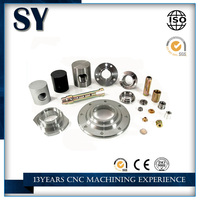 Anodizing CNC stianless steel alloy machining parts, small metal CNC electric motor parts