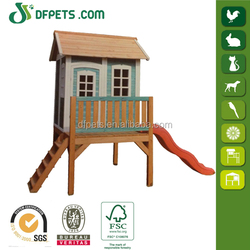 Kids Childrens Backyard Timber Wooden Outdoor Cubby Play House DFP022M