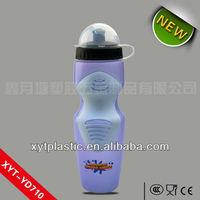 2013 HDPE fancy school bowling water bottle
