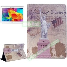 Places of Interest Design Flip Leather Case for Samsung Galaxy Tab S 10.5 T800