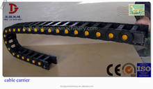 Simple heavy duty cable chain,Bridge type opening,drag carrier(80)