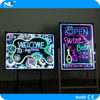 China new product led writing board mobile display advertising programmable led light board smd led circuit board