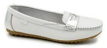 Mulheres plataforma euro Loafer couro macio sapatos sapatos rasos confortáveis