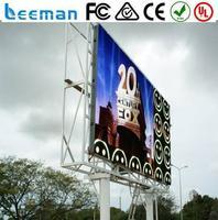 Leeman p6 full color rgb led module advertising trucks for sale