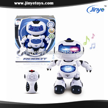 2015 New radio control robot with light & music and automatic dancing