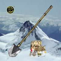 Emergency Tool Kit For Car Multifunction Shovel With Led Waterproof Flashlight