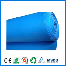 3mm Blue Cheap IXPE Foam Floor Underlayment For Heated Floor