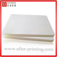 Plastic film 80mic Pouch laminating film for ID cards